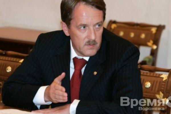 Губернатор Воронежской области слушал лектора Владимира Путина, сидя за первой партой