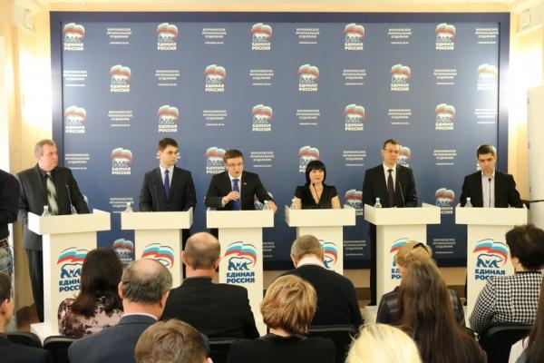 Воронежские участники праймериз  размялись на первых  дебатах