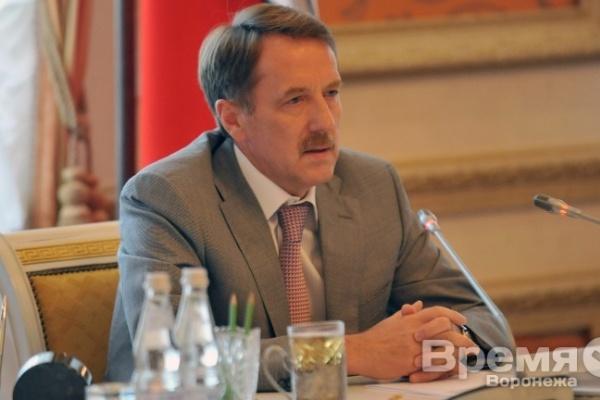 На встрече с воронежским губернатором: «Александр Гусев малоизвестен воронежцам»