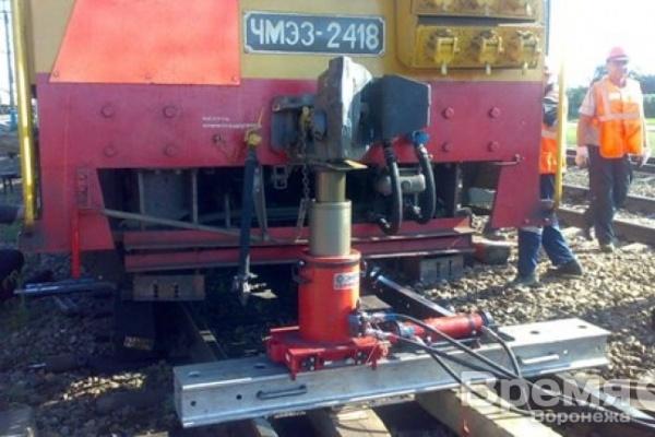 В Воронежской области второй раз за месяц с рельсов сошёл поезд