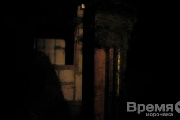 В Воронеже ночью горели не только машины, но и шиномонтаж