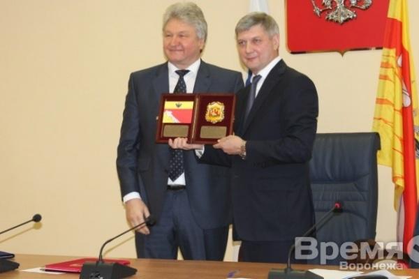 Александр Гусев рассказал о первых шагах на посту мэра Воронежа