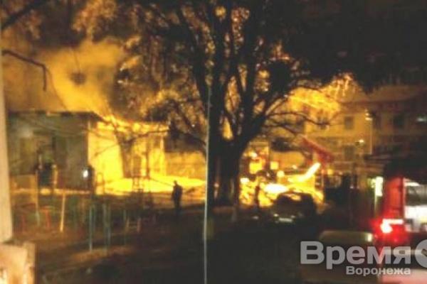В Воронеже загорелась трансформаторная подстанция