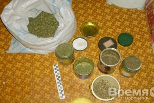 Воронежец на даче выращивал коноплю