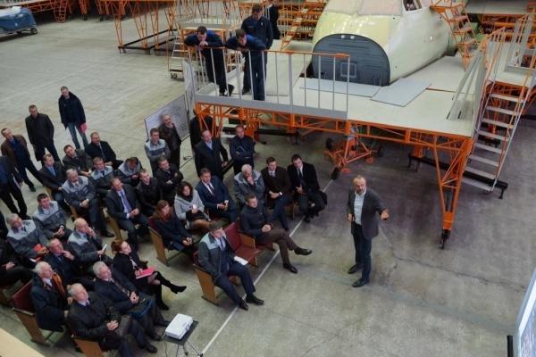 Специалисты  воронежского авиазавода применили 3D-принтер для создания Ил-112В