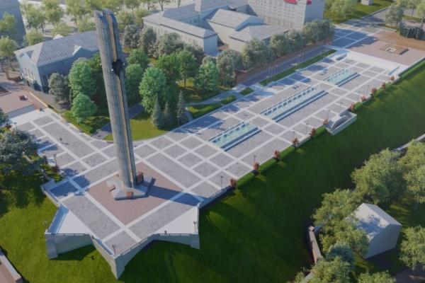 В Воронеже на площади Победы появятся смотровые площадки – контрфорсы от стены старой крепости