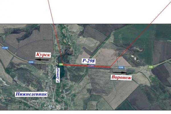 В Воронежской области 2 км курской трассы починят за 224 млн рублей