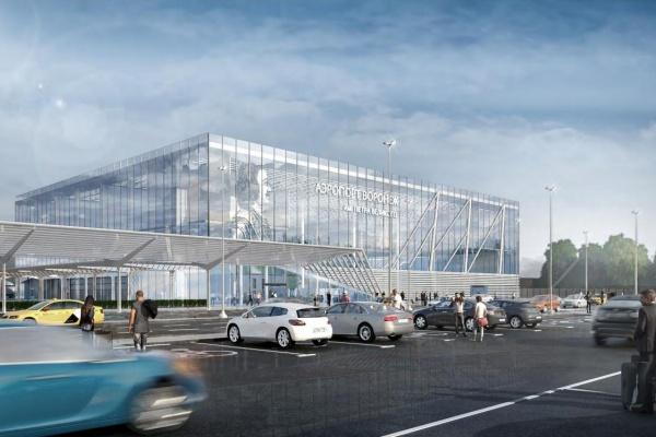 Открытие аэровокзала в Воронеже перенесли на 2023 год