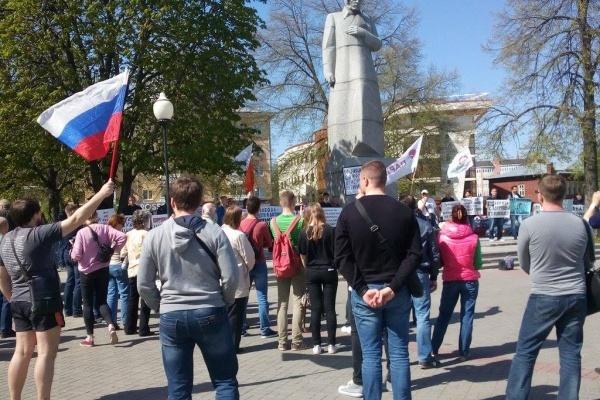 Воронежская оппозиция провела праздники по-своему
