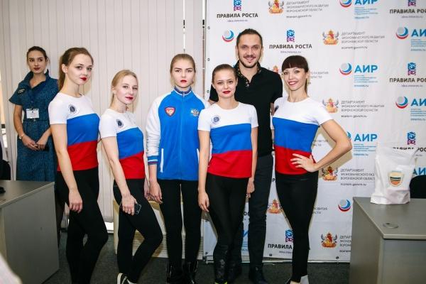Олимпийский чемпион выступил на воронежском конкурсе «Правила роста»