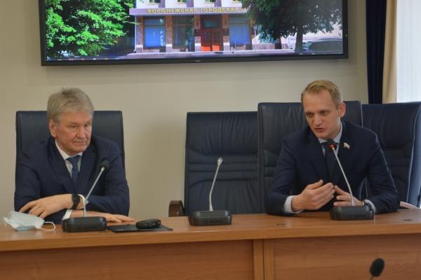 Парламентарии Воронежа и Архангельска обсудили проблемы ЖКХ