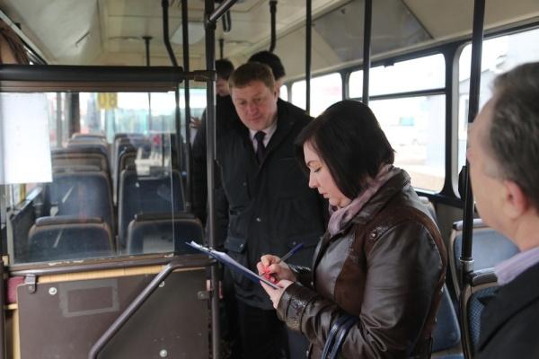Воронежских перевозчиков обязали привести в порядок салоны автобусов