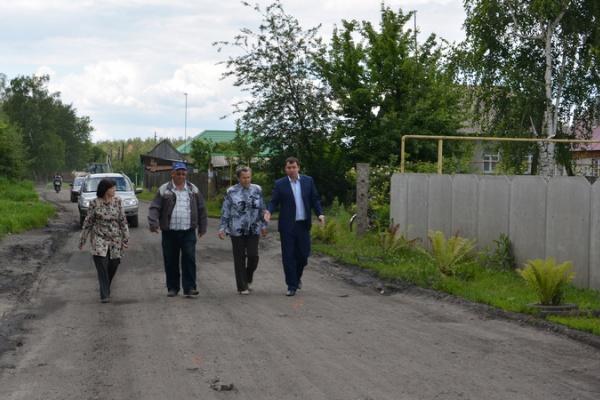 Жители окраины Воронежа дождались асфальтовой дороги