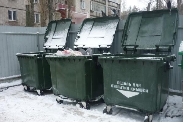 Воронежская УК переходит на евроконтейнеры