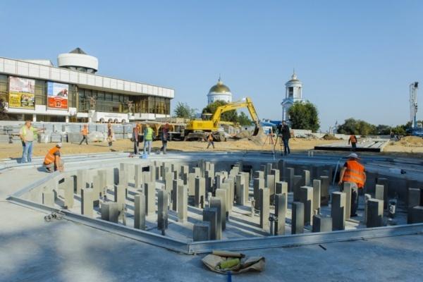 Мэрия Воронежа оставила реконструкцию Советской площади прежнему подрядчику