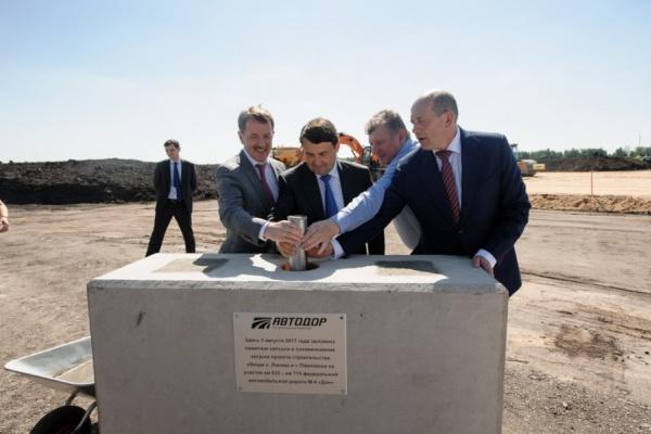 Воронежский губернатор попросил «строить быстрее» дорогу в обход Павловска