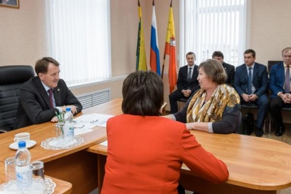 Воронежский губернатор пообещал бутурлиновцам праздник