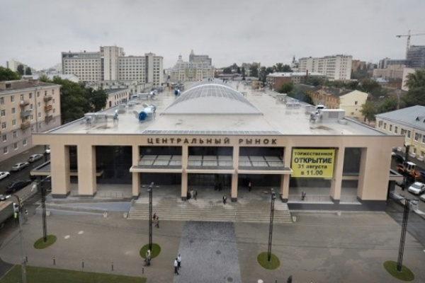 На воронежский Центральный рынок стало дешевле отправляться пешком