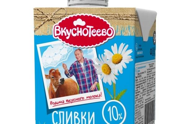 Воронежские сливки «Вкуснотеево» теперь в новом формате