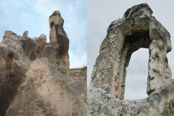 Воронежское Дивногорье осталось без древней арки