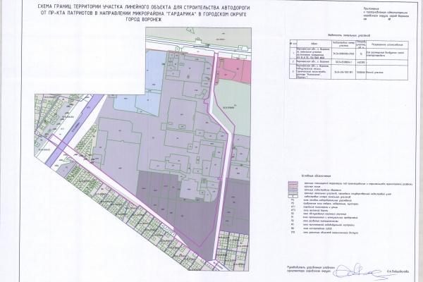 В Воронеже начнут стройку дороги к микрорайону «Гардарика»
