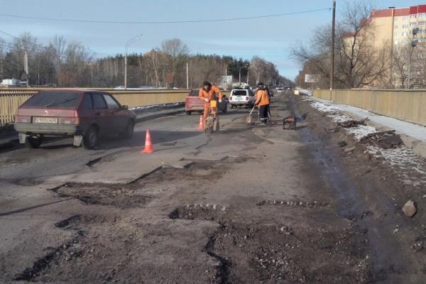 Воронежские дороги не пережили зиму