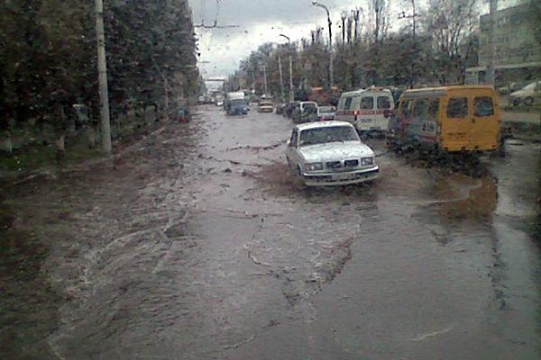 Нормальные дороги в Воронеже появятся не раньше 2025 года