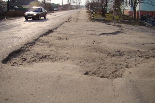 ОНФ назвал воронежские дороги худшими в Центральной России
