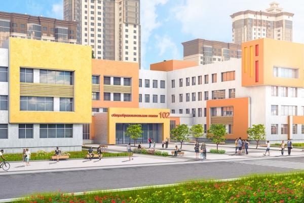 ДСК построит школу в новом воронежском микрорайоне «Московский квартал»