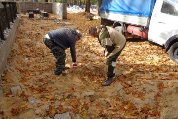В воронежском «Орленке» нашли неучтенные воинские захоронения времен войны