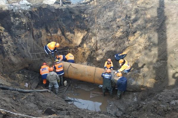 Власти Воронежа отчитались об устранении крупной коммунальной аварии