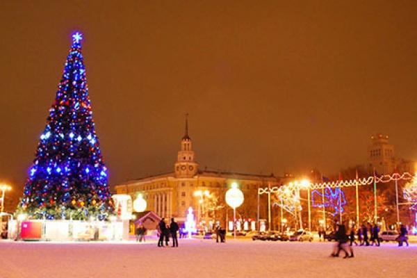 У Воронежа будет другая новогодняя елка
