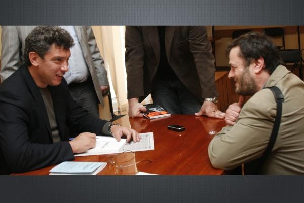Борис Немцов желал воронежцам благополучия и бодрости