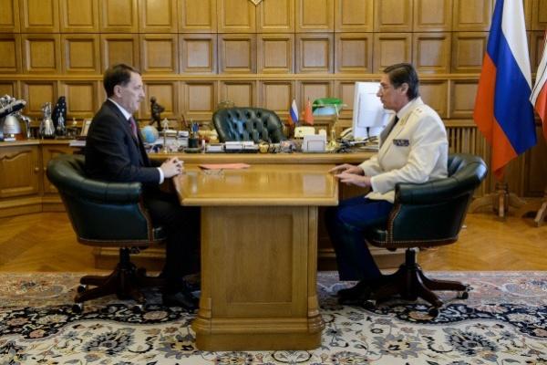 Воронежский губернатор поздравил прокурора области