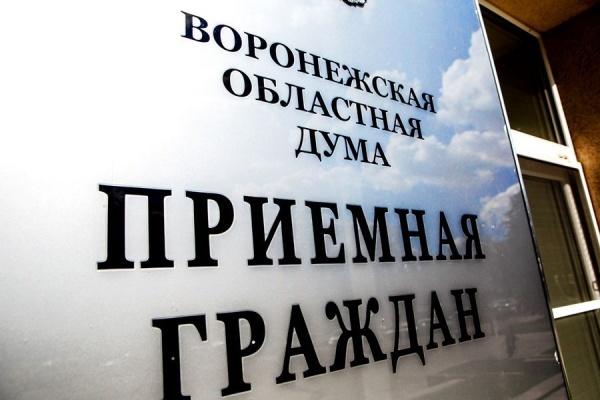 Оперштаб вернул дистанционный прием граждан в воронежской облдуме спустя две недели