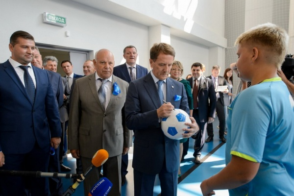 Воронежский губернатор предложил президенту вкладываться в физкультуру