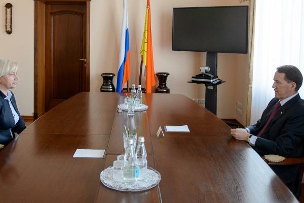 Воронежский губернатор поддержал областной профсоюз здравоохранения