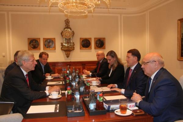 Воронежский губернатор открыл область для немецкого бизнеса