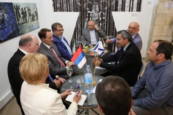 Воронежский губернатор открыл в Израиле Маршаковские чтения