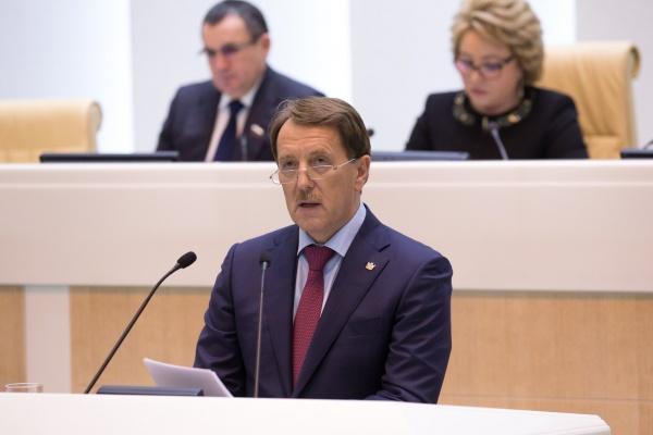 Воронежский губернатор попросил Совет Федерации простить регионам долги