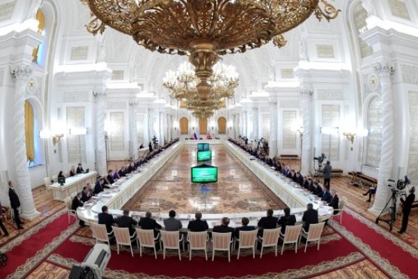 Воронежский губернатор принял участие в заседании Госсовета