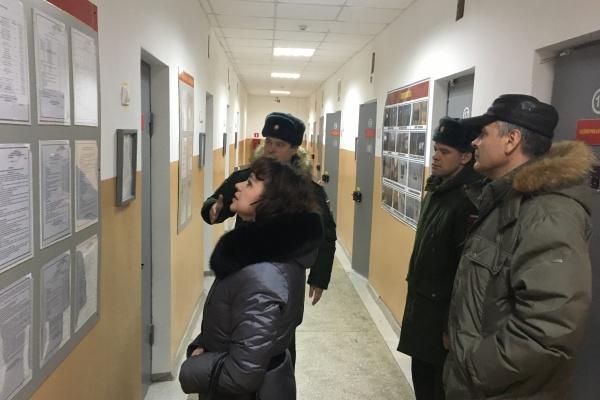 Воронежская гарнизонная гауптвахта распахнула двери для посетителей