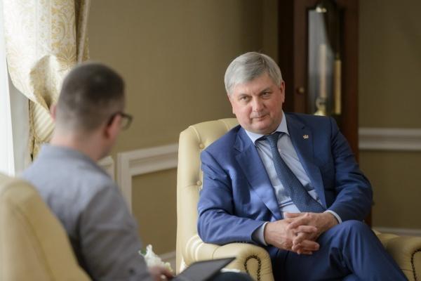 Губернатор Воронежской области в сентябре стал чаще упоминаться в телеграм-каналах