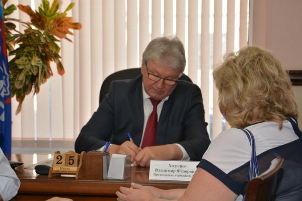 Воронежцы получили ответы от Владимира Ходырева