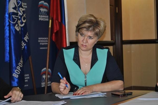 Экс- депутат Госдумы от Воронежской области  трудоустроилась в мэрии