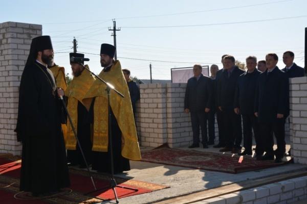 Под Воронежем заложили многофункциональный духовный центр за 160 млн рублей