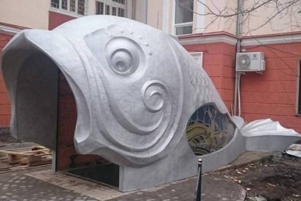 Воронежская рыба могла повредить несущую стену дома-гармошки