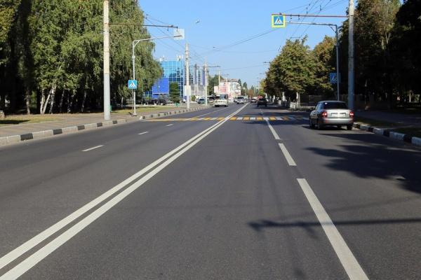 Ремонт воронежских дорог завершился досрочно