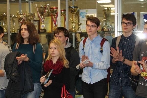 НВ АЭС презентовала «информационный уголок» в Воронежском госуниверситете