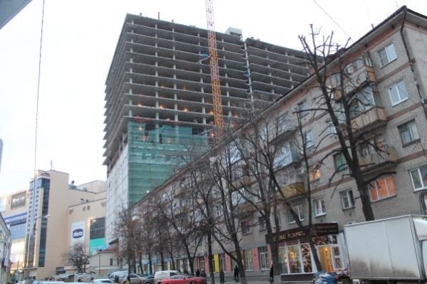 В Воронеже при строительстве гостиничного комплекса погиб сантехник
